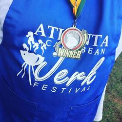 1st place metal for Atlanta Jerk Festival