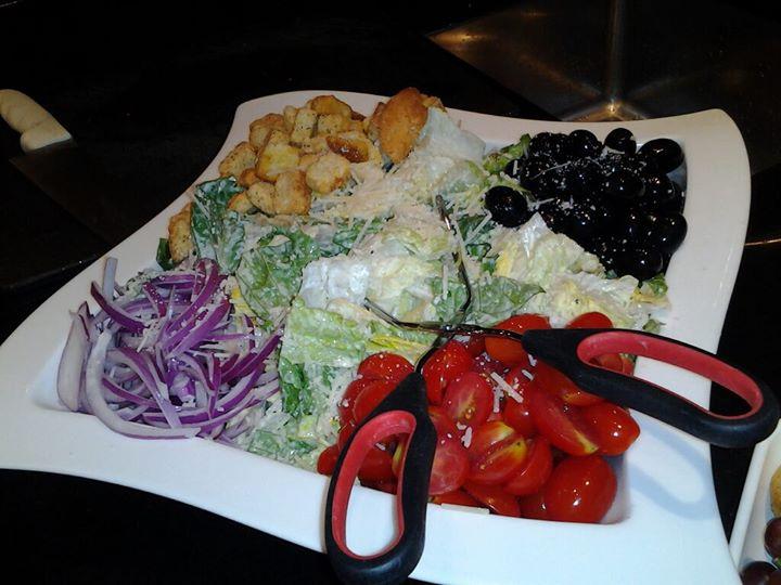 Caesar salad I made last night for event