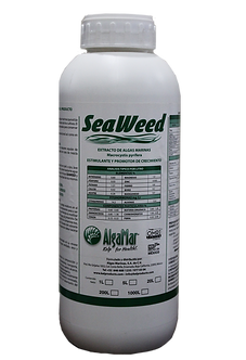 Extracto liquido de algas, promotor de crecimiento para algas