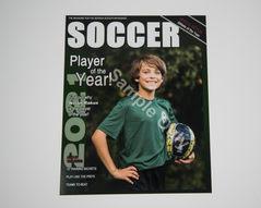G. Magazine Cover 8x10