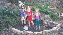 4 Groundbreaking of childrens garden