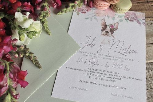 invitacion de boda, invitacion de boda personalizada