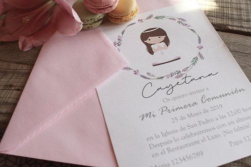 Invitación Corinna