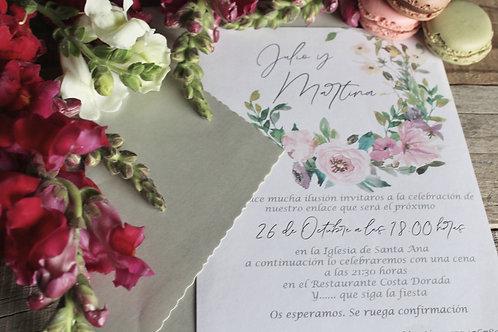 Invitación Malai