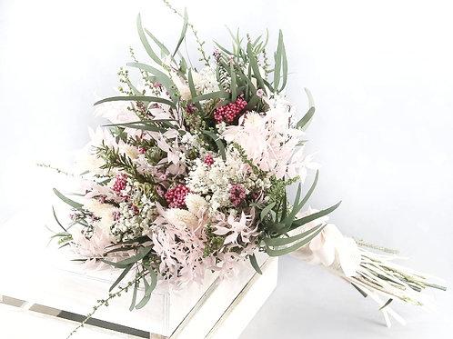 ramo de novia de flor preservado