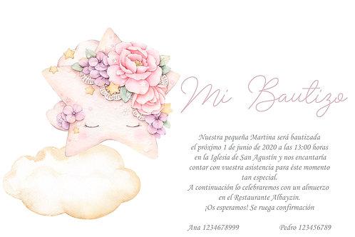 Invitación Baby Estella