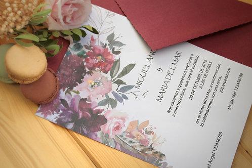 Invitación Mellea