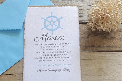 Invitación Marco