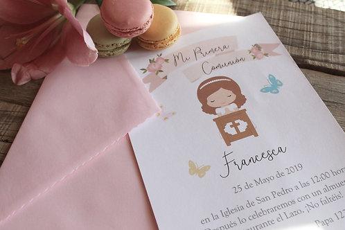 Invitación Gianna