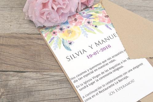 invitaciones de boda, invitaciones de boda romanticas