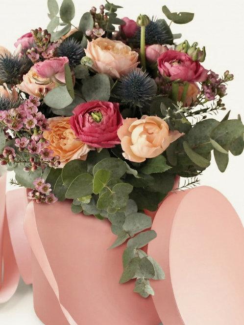 Caja de Flores Rosa