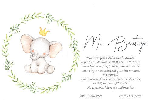Invitación Paolo Descargable