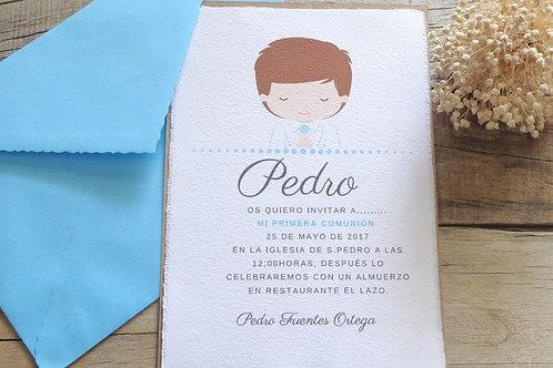 Invitación Pedro