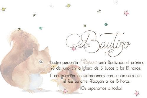 Invitación Betty Descargable