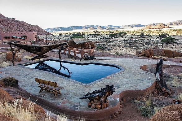 Namibia Farm Lodge VIew