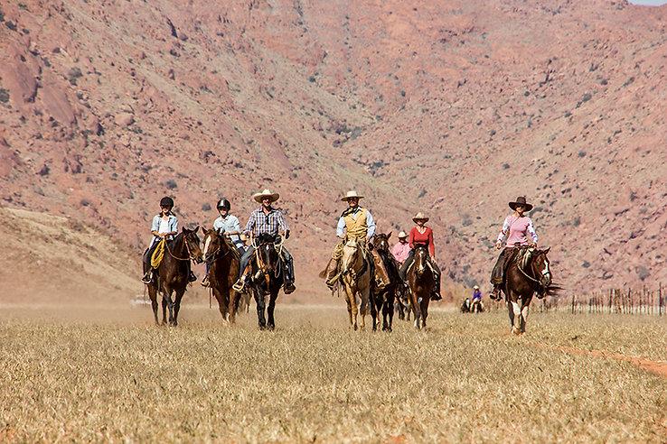 Pferdereiten Namibia