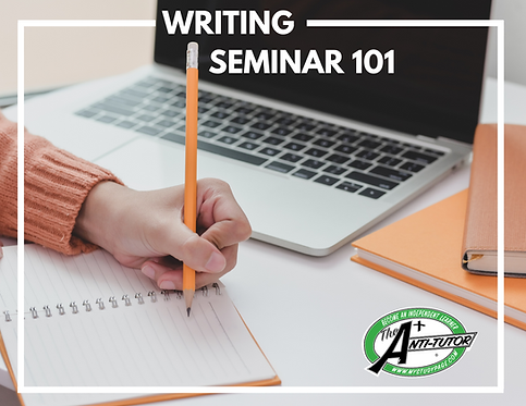 Bridge to College: Writing Seminar 101