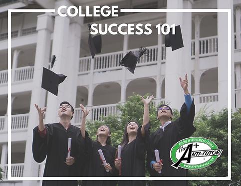 Bridge to College: College Success 101