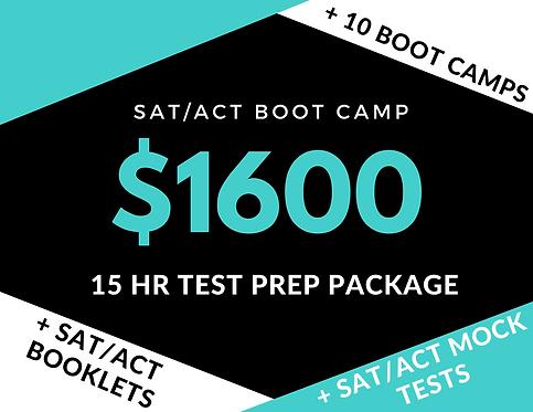 15hr SAT/ACT Test Prep Package