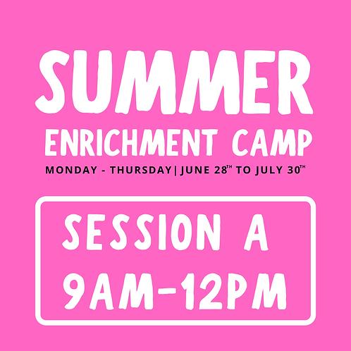 Summer A (Thousand Oaks) 9am-12pm