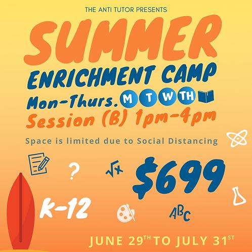 Summer B (Tarzana) 1pm-4pm