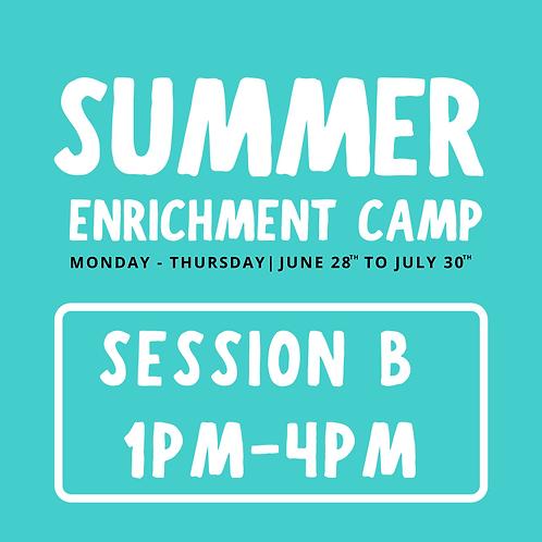 Summer B (Thousand Oaks) 1pm-4pm