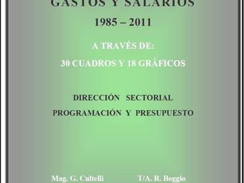 Gastos y Salarios 1985-2011