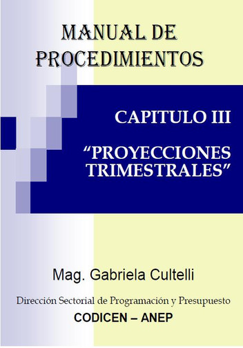 Proyecciones Trimestrales