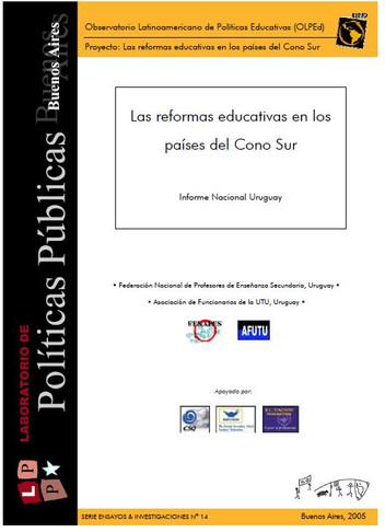 Las reformas educativas en los países del Cono Sur
