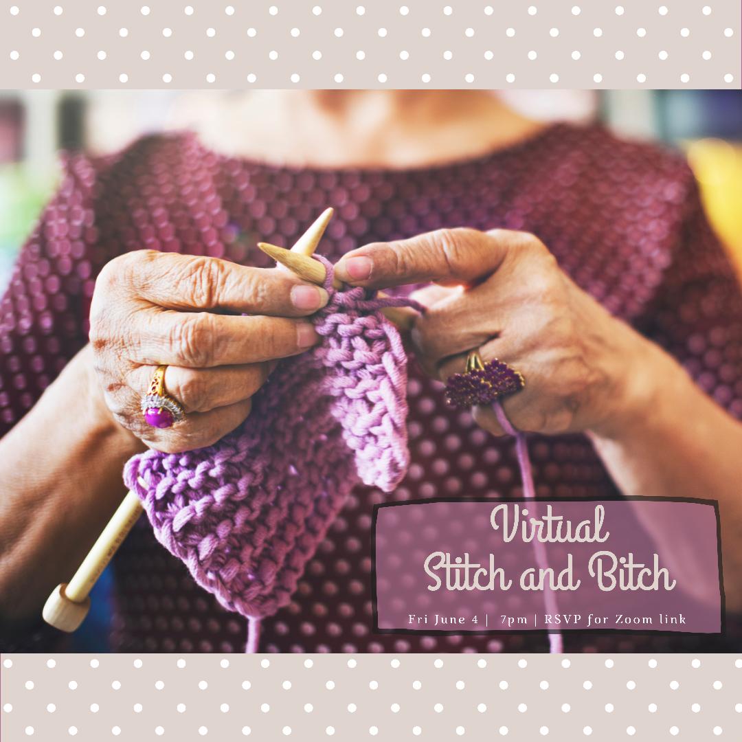 Online Stitch & Bitch