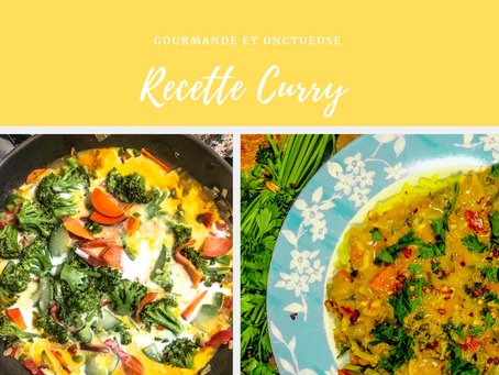Recette Délicieuse Curry Végétarien