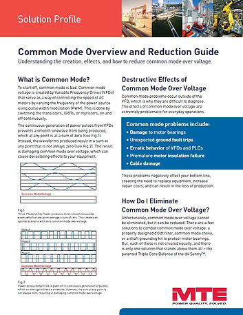 Common Mode Overview and Reduction Guide