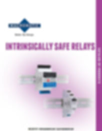 Intrinsically Safe Relays Catalog Cover.