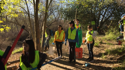 Group at Watson Park cleanup