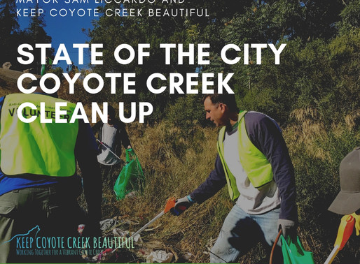 Creek Cleanup and State of the City
