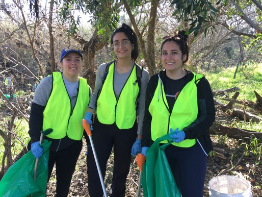 Watson Park Coyote Creek Cleanup Heroics