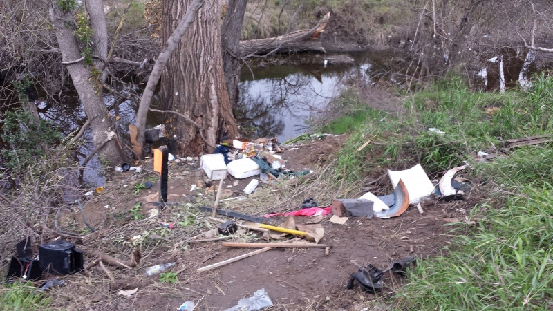 Lets keep our creek clean and beautiful