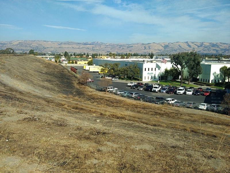 Landfill view