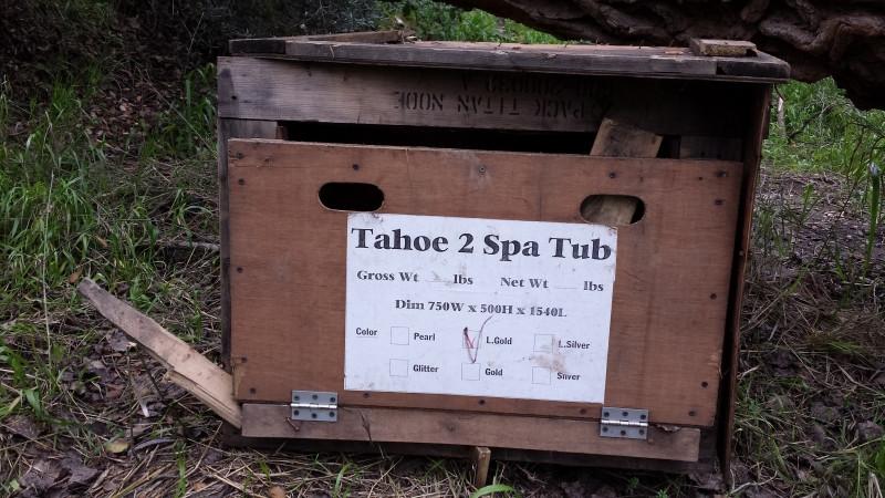 Things we find, Tahoe 2 Spa Tub