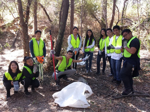 Keeping Coyote Creek clean and beautiful