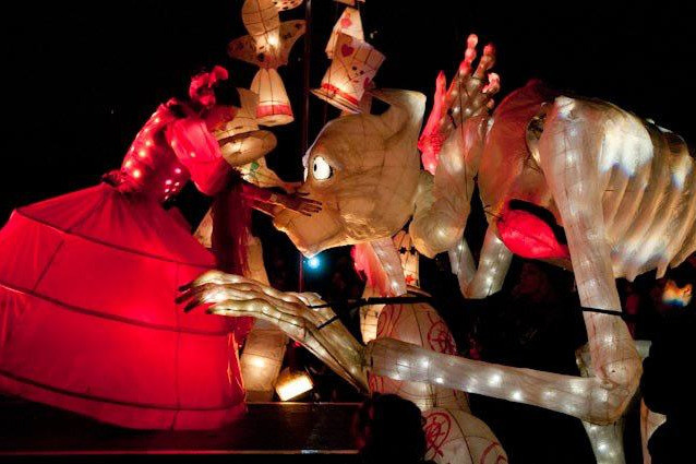 Hungry Ghost Lantern Puppet