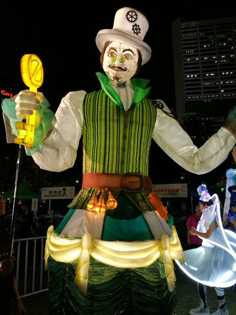 Wizard of Oz Lantern Puppet