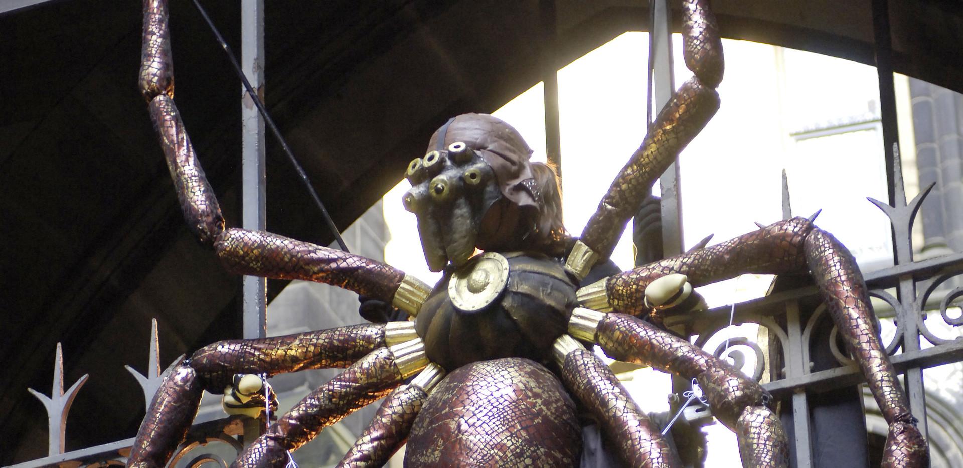 Spider Puppet