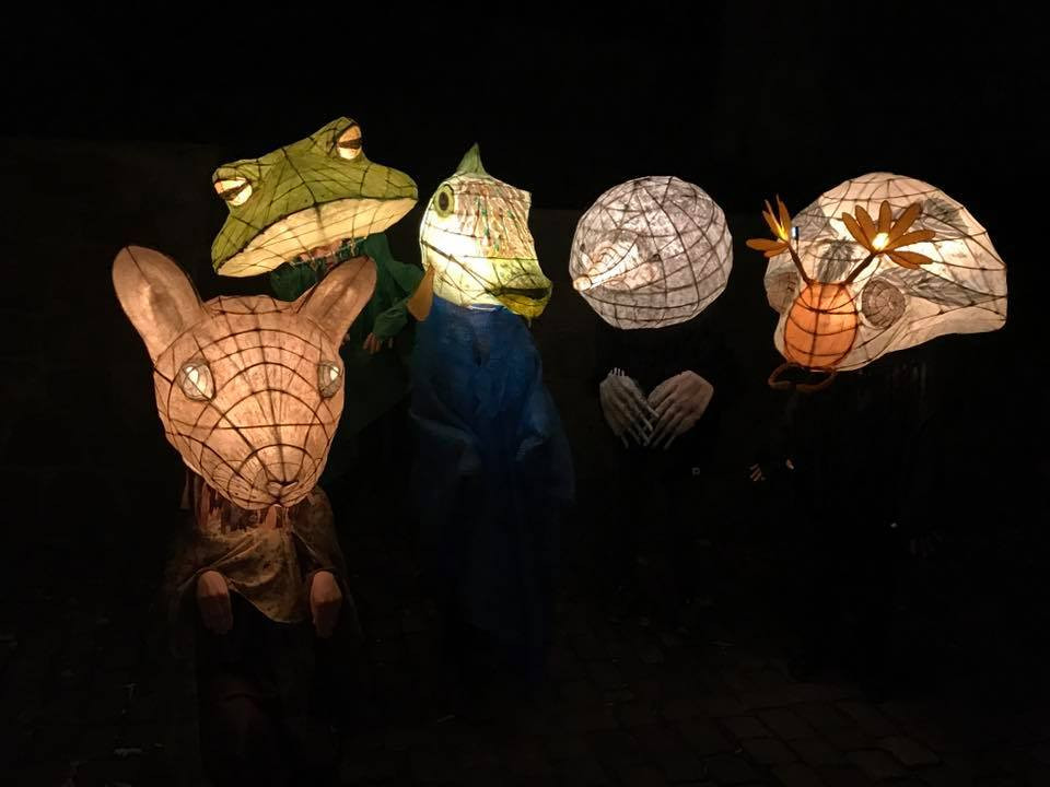 Animal Lantern Masks