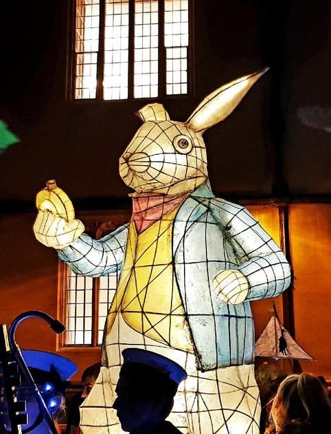 White Rabbit Lantern