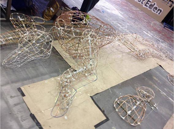 Greyhound Puppet Structure