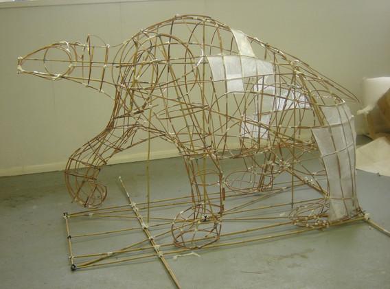 Polar Bear Lantern Structure
