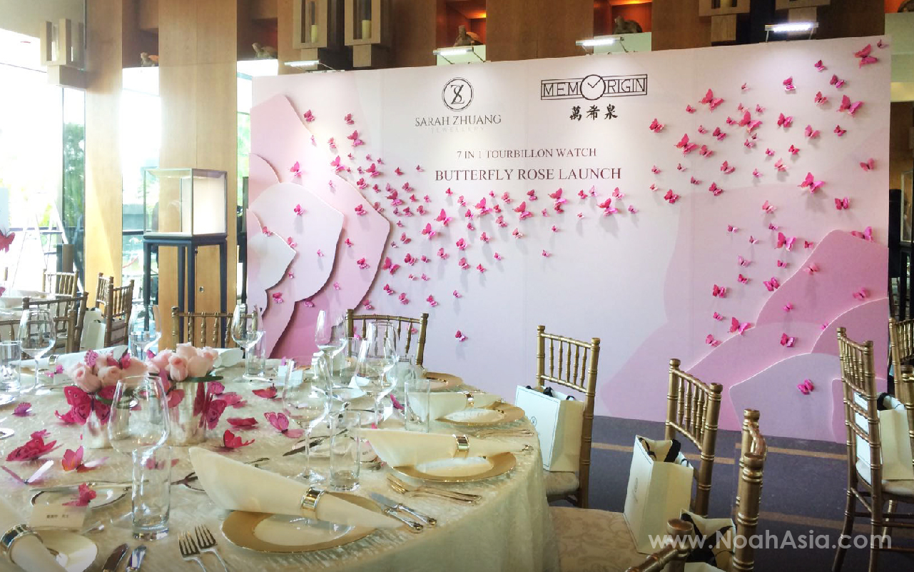 Butterfly Rose Launch