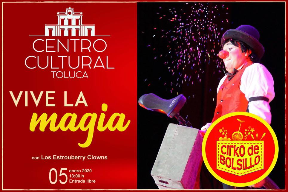 Cirko de Bolsillo / Magia y Reyes 2020