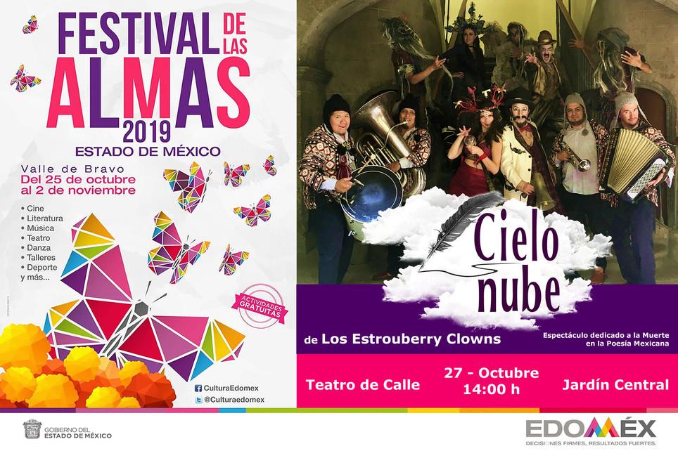 Cielo Nube / XVII Festival de las Almas 2019